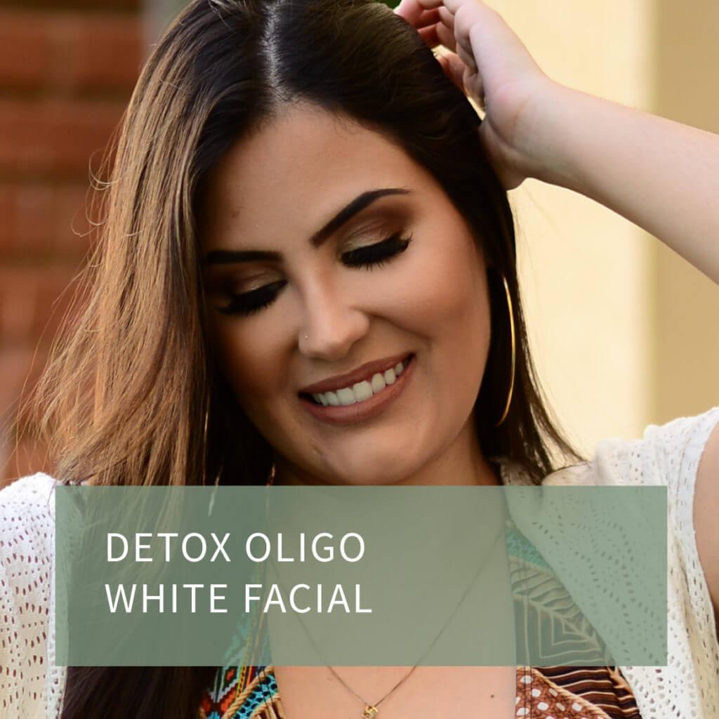 detox oligo white facial